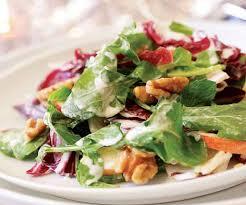 Walnut and Goats Feta Salad