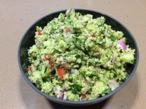 Broccoli Quinoa Tabouleh