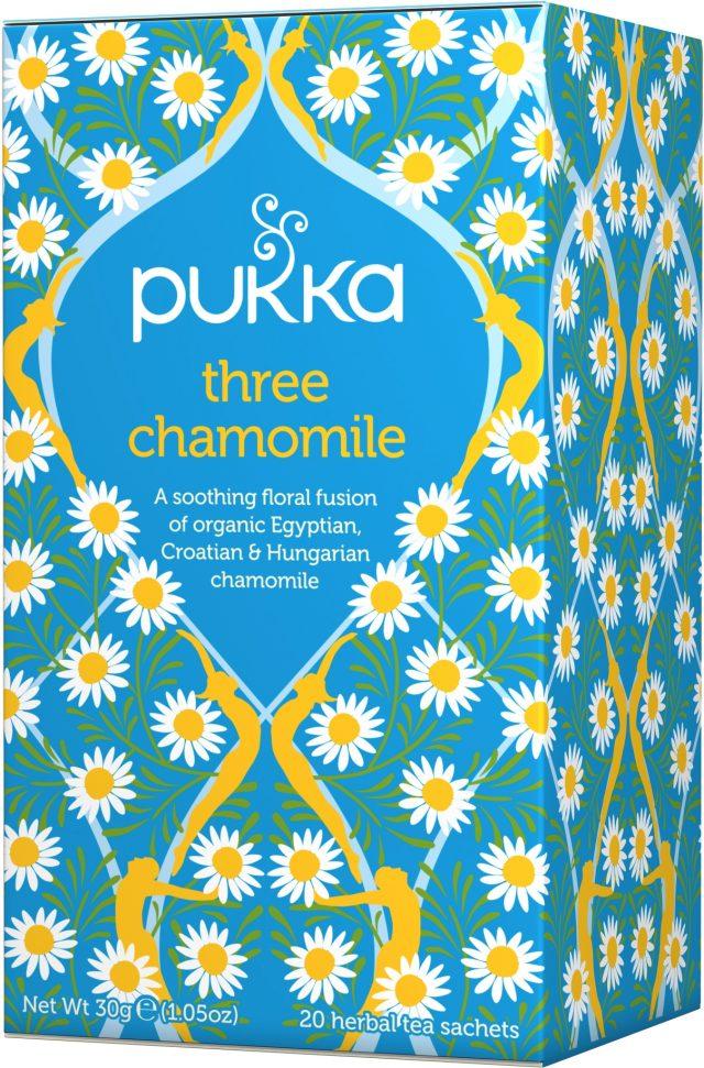 Pukka Three Chamomile Organic Tea Bags | 20 pack