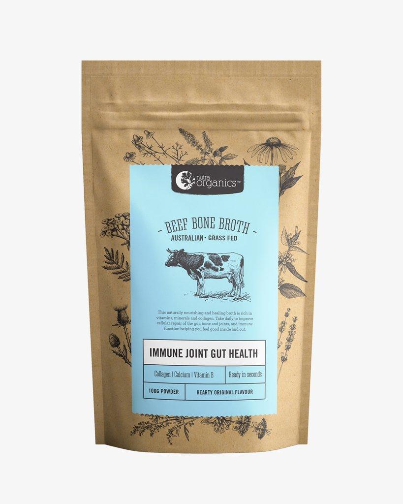 Nutra Organics Beef Bone Broth | 100g Hearty Original