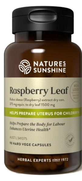 Natures Sunshine Raspberry Leaf | 90 capsules