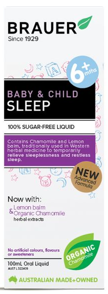 Brauer Baby & Child Sleep | 100ml