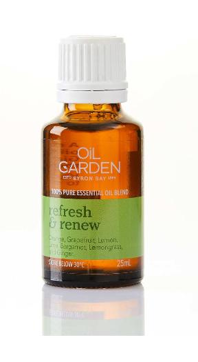 Oil Garden Essential Oil | 25ml Refresh & Renew