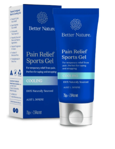 Better Nature Pain Relief Sports Gel | 75g Cooling