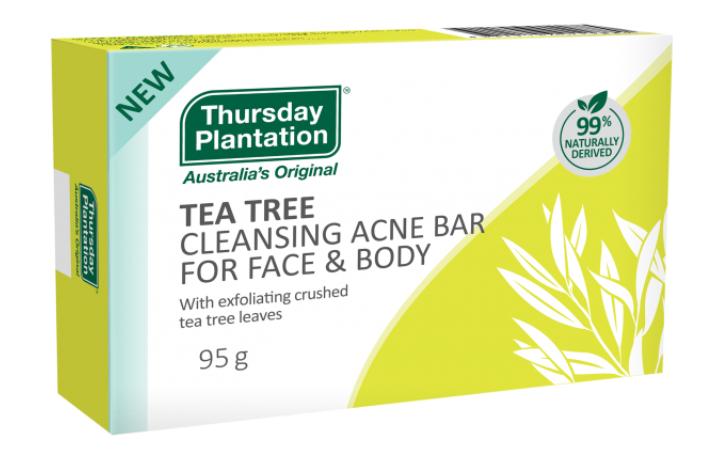 Thursday Plantation Cleansing Acne Bar | 95g