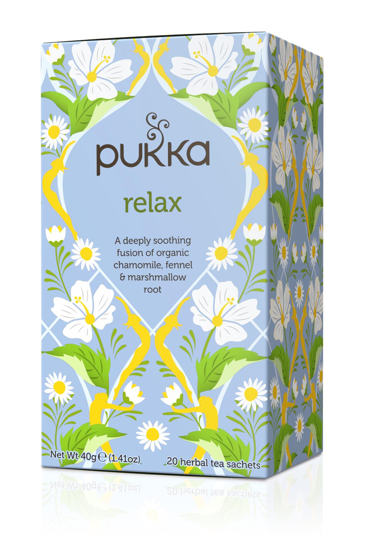 Pukka Relax Organic Tea Bags | 20 pack
