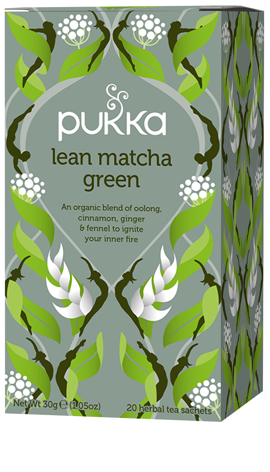 Pukka Lean Matcha Green Organic Tea Bags | 20 pack