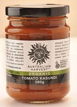 Australian Harvest Organic Tomato Kasundi | 260g