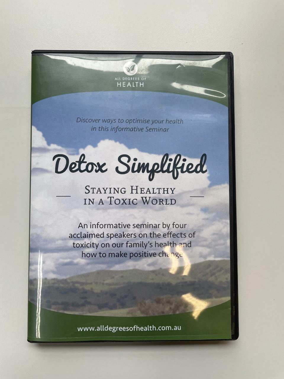 Detox Simplified | DVD