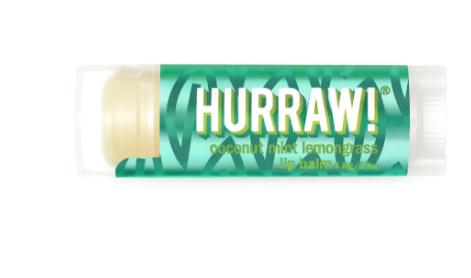 HURRAW  Lip Balm | 4.8g Coconut Mint Lemongrass