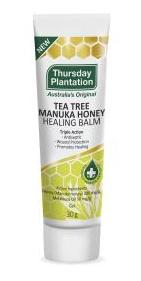Thursday Plantation Tea Tree Manuka Honey Healing Balm   30g