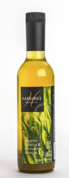 Hardings Fine Foods Organic Matcha & Curcumin Vinegar | 350ml