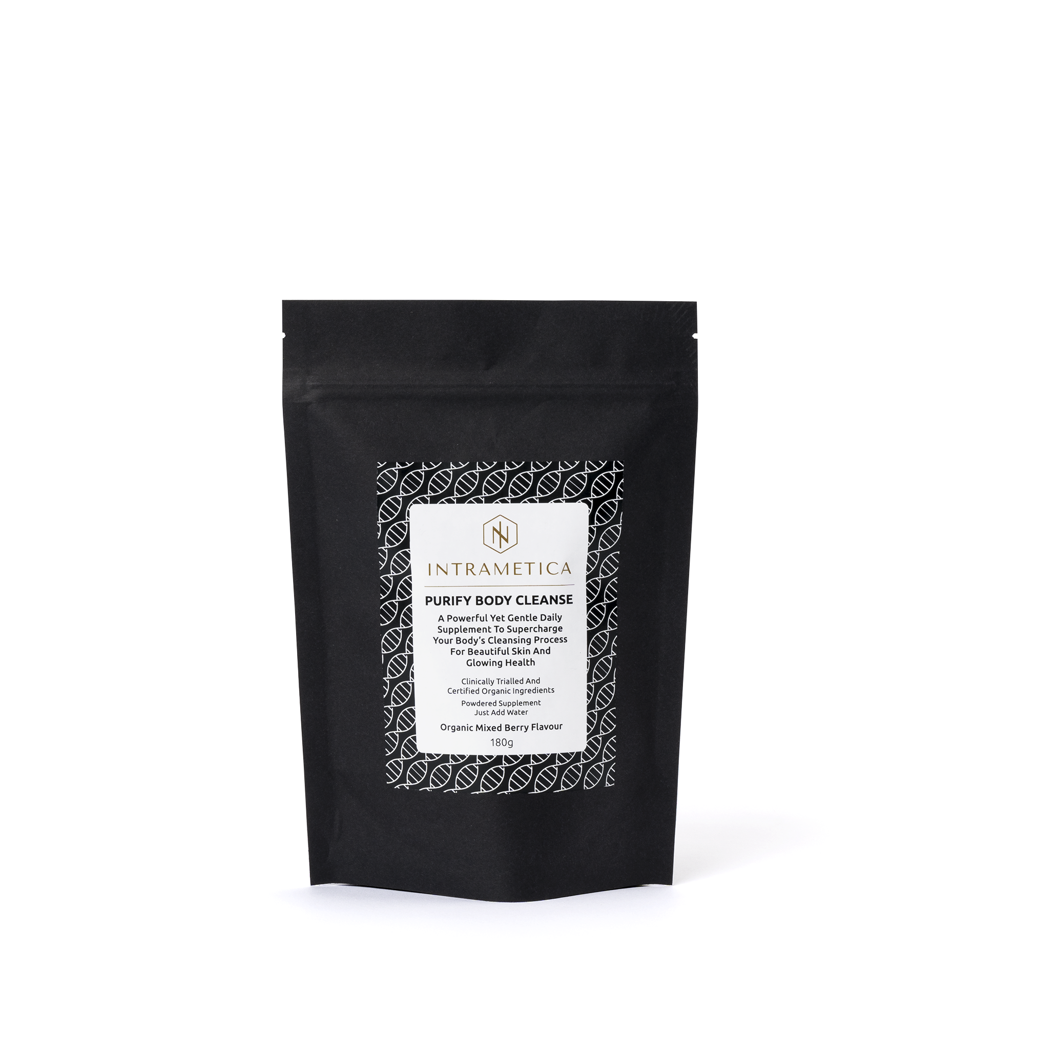 Intrametica Purify Body Cleanse Pouch | 180g Organic Mixed Berry
