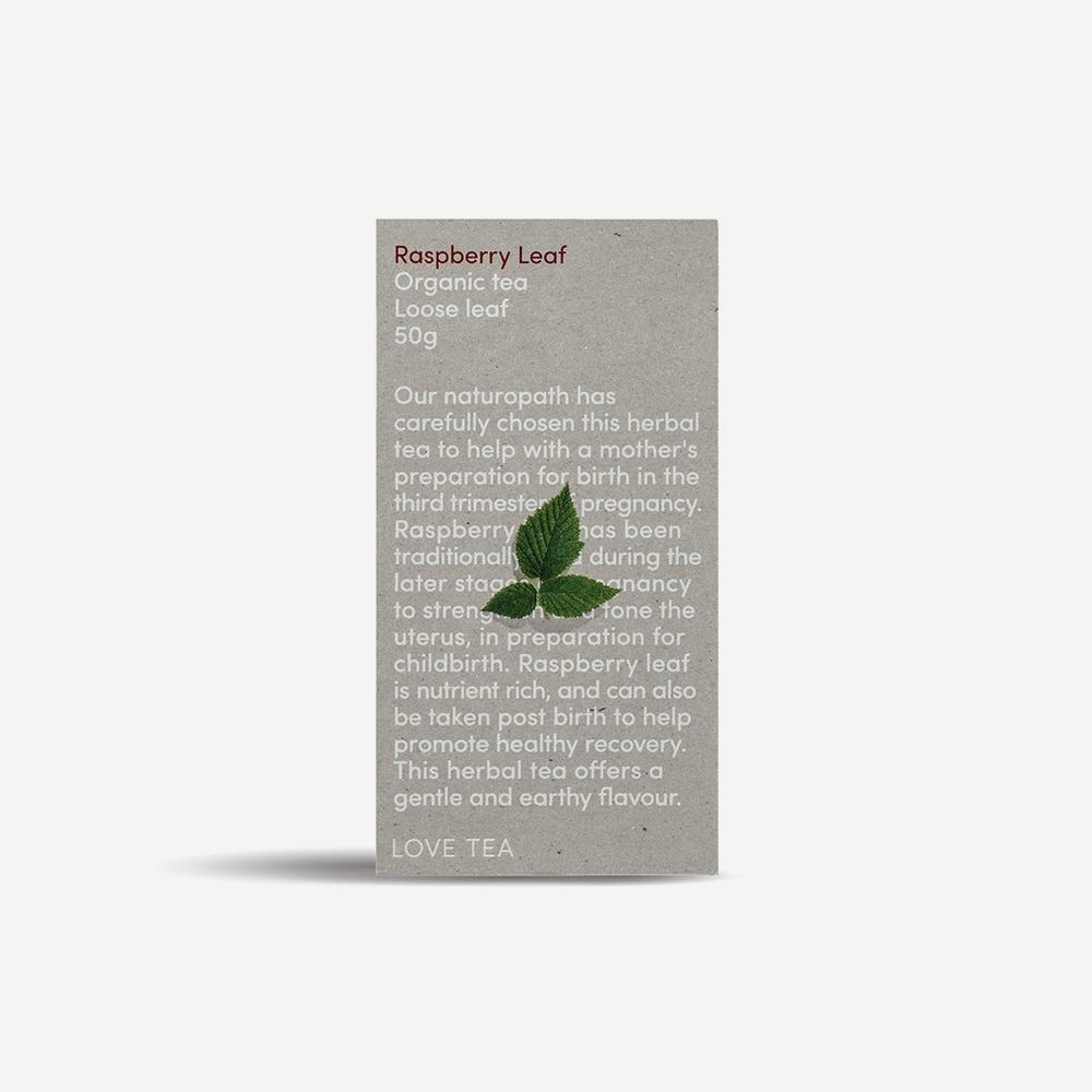 Love Tea Raspberry Leaf | 50g loose leaf