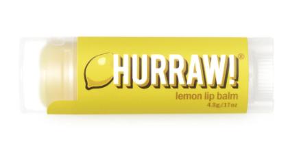 HURRAW  Lip Balm | 4.8g Lemon