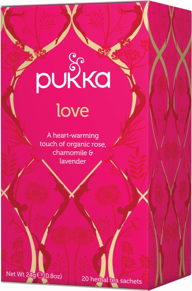 Pukka Love Organic Tea Bags | 20 pack