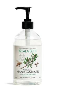 Koala Eco Natural Hand Sanitiser | 500ml Lemon Scented Tea Tree