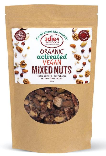 2die4 Activated Organic Vegan Mix | 120g