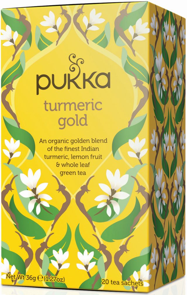 Pukka Turmeric Gold Organic Tea Bags | 20 pack