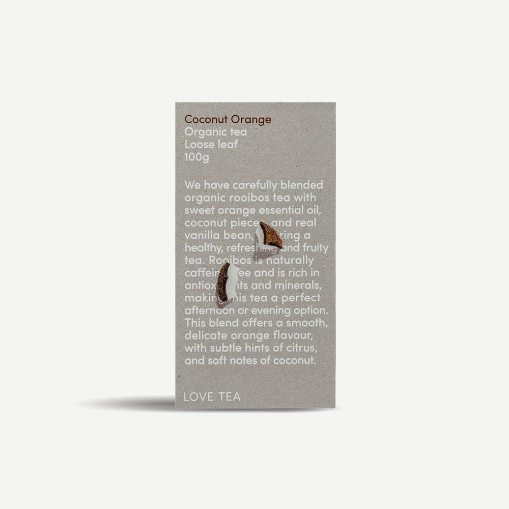 Love Tea Coconut Orange | 100g loose leaf
