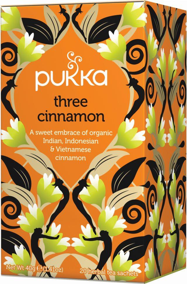 Pukka Three Cinnamon Organic Tea Bags | 20 pack