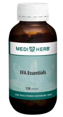 MediHerb EFA Essentials | 120 Capsules