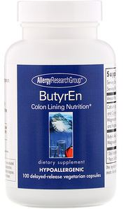 Allergy Research Group ButyrEn | 100 Capsules